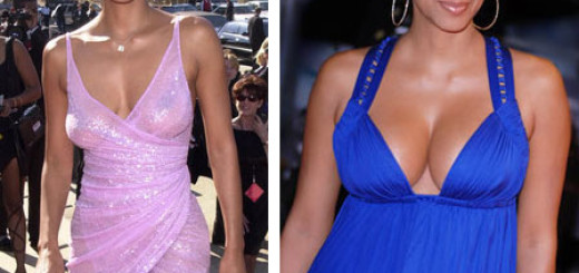 halle berry breast implants before and after photos