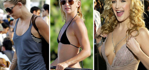 Kate Hudson spends the day paddle boarding