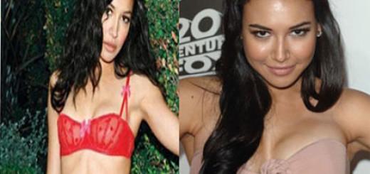 naya rivera plastic surgery breasts augmentation before after photos