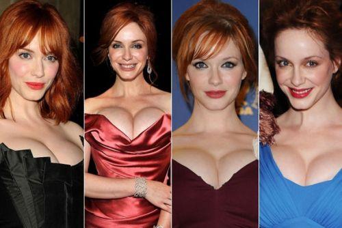 christina hendricks plastic surgery before after photos, christina hendricks bra size, christina hendricks breast augmentation before after photos, christina hendricks nose job, christine hendricks plastic surgery timeline