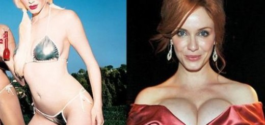 christina hendricks plastic surgery before after photos, christina hendricks breast augmentation before after photos, christina hendricks nose job, christine hendricks plastic surgery
