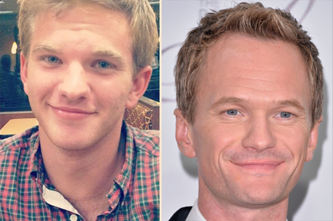 neal-patrick-harris 10 Celebrities Look Alike - Doppelgangers