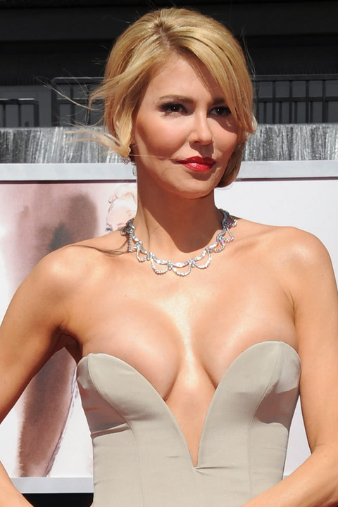 Which celebrity has the largest breasts