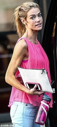 Denise Richards plastic surgery, Denise Richards breast augmentation, Denise Richards plastic surgery before after photos, Denise Richards breast implants, Denise Richards Botox and lip injections, fillers1