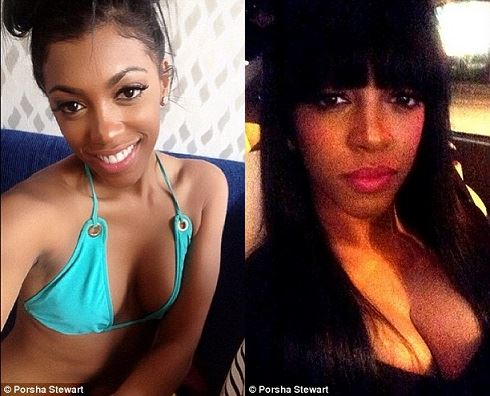 Porsha Stewart plastic surgery, Porsha Stewart plastic surgery before after photos, Porsha Stewart breast augmentation, Porsha Stewart breast implants, did Porsha Stewart get a boob job