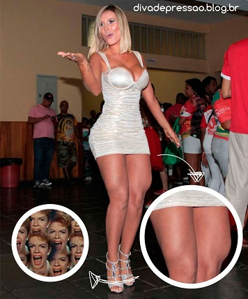 Andressa Urach plastic surgery, Andressa Urach plastic surgery before after photos, Andressa Urach images, breast implants, breast augmentation, liposuction, vaginal lip reduction, nose job, Andressa Urach awful plastic surgery3