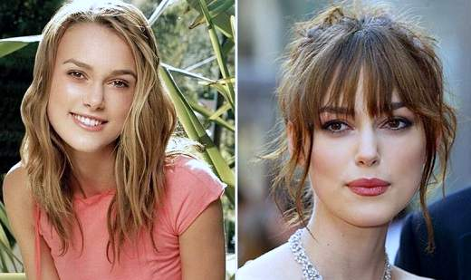 Keira Knightley plastic surgery, Keira Knightley plastic surgery before after photos, Keira Knightley nose job, plastic surgery rumors, botox3