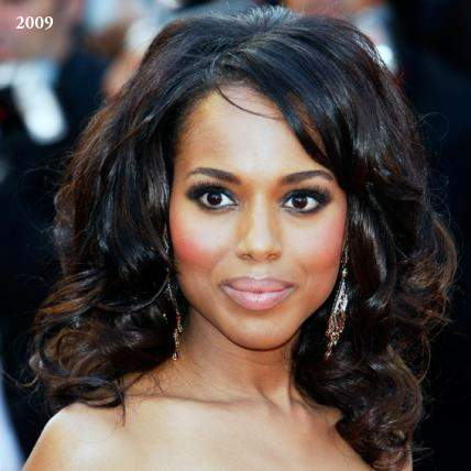 Kerry Washington plastic surgery, Kerry Washington before pictures, Kerry Washington plastic surgery before after photos, nose job, eyelid surgery, botox, Kerry Washington cosmetic surgery photos1
