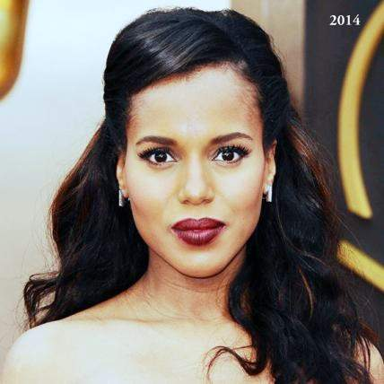 Kerry Washington plastic surgery, Kerry Washington before pictures, Kerry Washington plastic surgery before after photos, nose job, eyelid surgery, botox, Kerry Washington cosmetic surgery photos2