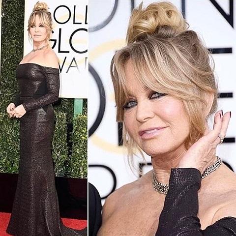 goldie hawn plastic surgery, goldie hawn 2017