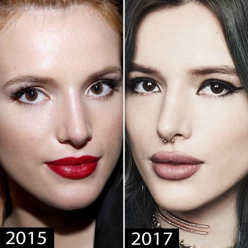 bella thorne plastic surgery, bella thorne boob job, bella thorne lips, bella thorne nose job, bella thorne plastic surgery before after photos1