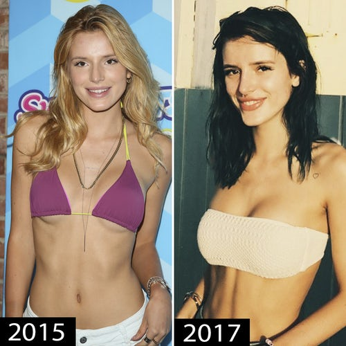 Bella Thorne Plastic Surgery Before And After Photos